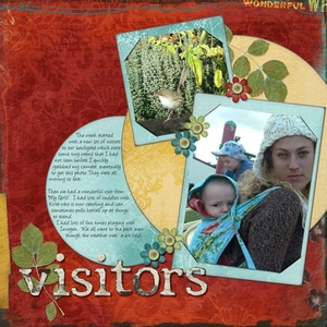 Visitors -  Week 21