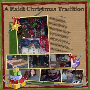 A Raidt Christmas Tradition  (Dec. 14th)