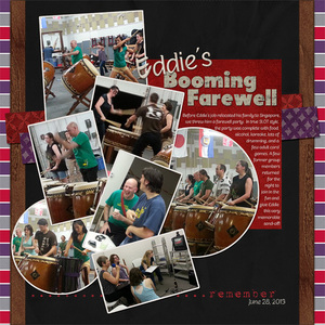 Eddies Booming Farewell (Saturday Color Challenge 1-11-14)