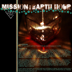 Mission: Earth Hour