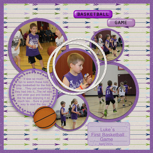 Luke Basketball - Saturday color challenge