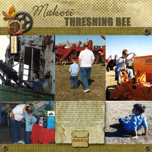 Threshing Bee