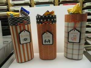 Trick or Treat Containers