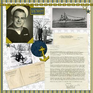 Al in the Navy 1955 page 1