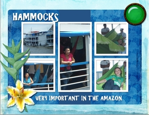 Hammocks - Important in the Amazon