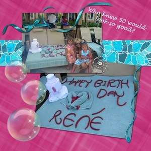 Birthday at the Pool