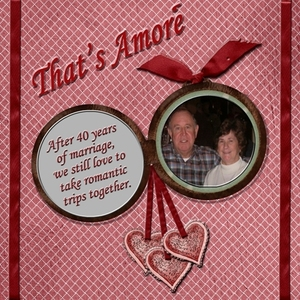 That's Amore' February layout contest