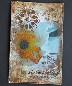 Printalble Garden Journal/Planner Cover Page