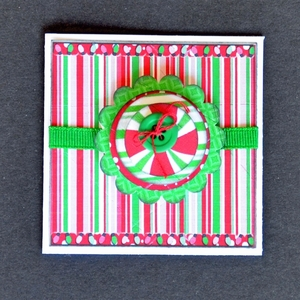 Printable Peppermint Gift Card