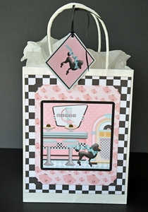Printable Retro Gift Bag
