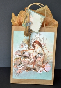 Printable Mermaid Gift Bag