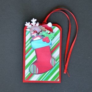 Printable Stocking Tag