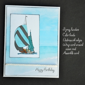 Printable Happy Birthday  Card - Masculine