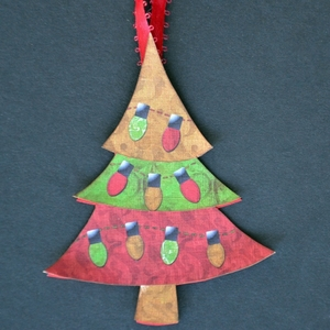 Printable Christmas Tree Tag