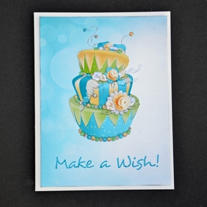 Printable Birthday Card - Make a Wish
