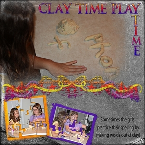 Clay Time Play Time