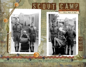 Pat & Jan off to Scout Camp
