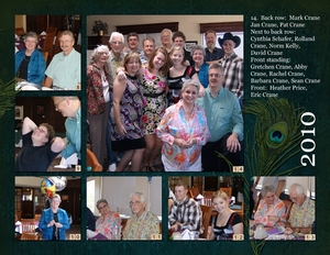90th Birthday luncheon, p2 of spread