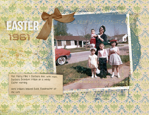 1961 windy Easter morning