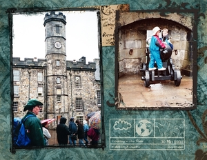 Sodden Tour of Edinburgh Castle, p.1 of 2