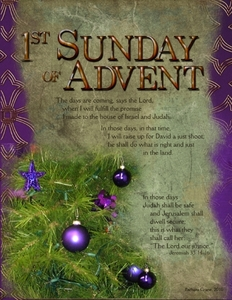 Liturgical Year, Advent Week 1