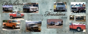 Spread for Ro's Ugly Truck Challenge