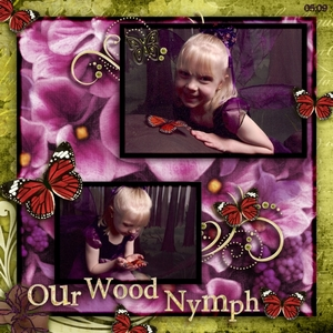 Our Wood Nymph