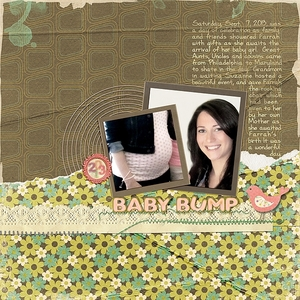 Tuesday Freebie_9/10_Baby Bump