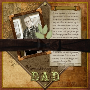 June Gallery Contest – Honoring Fathers