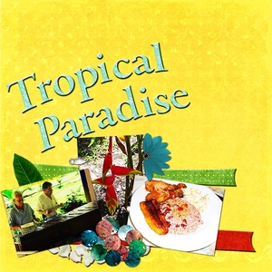 Tropical Paradise left