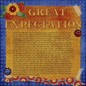 Great Expectation - left