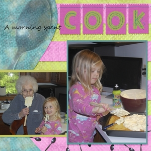 Cooking with GG & Nana
