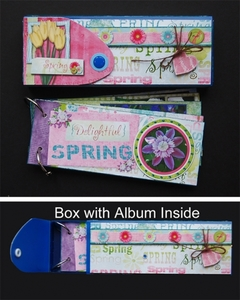 Tutorial: Hybrid Pencil Box and Album