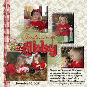 Christmas with Abby - SS 12-28-11