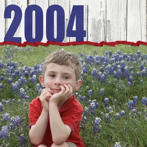 Spring 2004 Texas Bluebonnets (1 of 3)