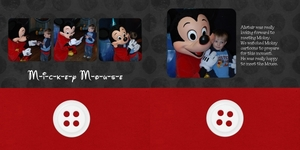 Mickey Mouse 2 pager