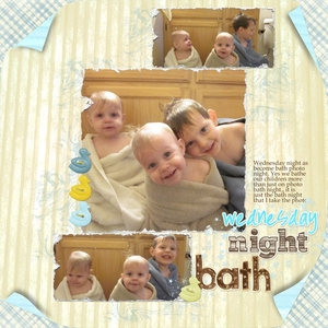jj task 16: Wednesday bath