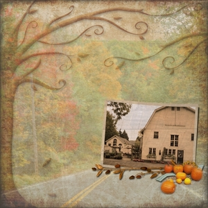 "Thursday Challenge 11-5-15 ""Autumn Barn"""