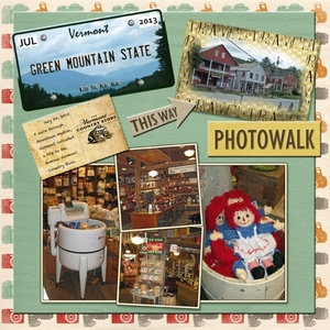 """Staycation 2013: Historic Downtown Challenge - """"The Vermont Country Store"""""""