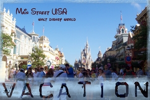 """Staycation 2013: Historic Downtown Challenge - """"WDW Postcard"""""""