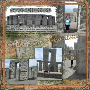 Stone Henge project Web