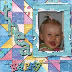 Happy Thea Friday Quilt