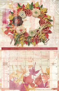 12/1/16 Fast & Fun 2017 Calendar Tutorial - November