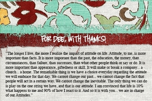 For Dee, with heartfelt thanks