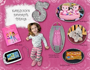 Karlynn's Favorite Things, Fifth Birthday (1)