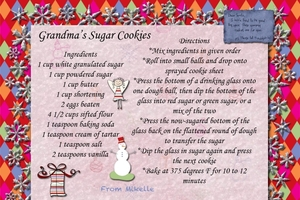 Grandma's Sugar Cookies for 2010 Recipe Exchange