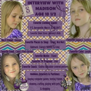 Interview with Madison
