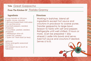 Great Gazpacho