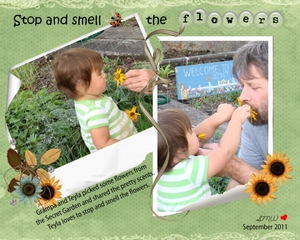Stpp and smell the flowers