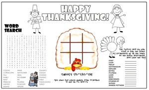 Thanksgiving Placemat1